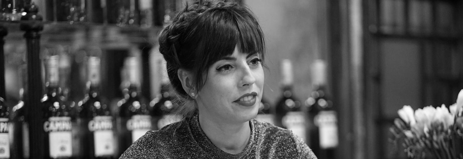 MARINA PIPI YALOUR, bartender, Campari