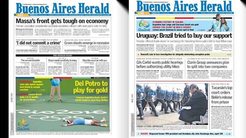 Buenos Aires Herald Belén Aborto